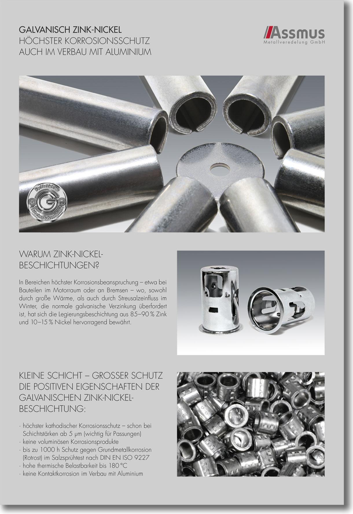 Favorit Galvanisch Zink-Nickel › Assmus Metallveredelung UZ05