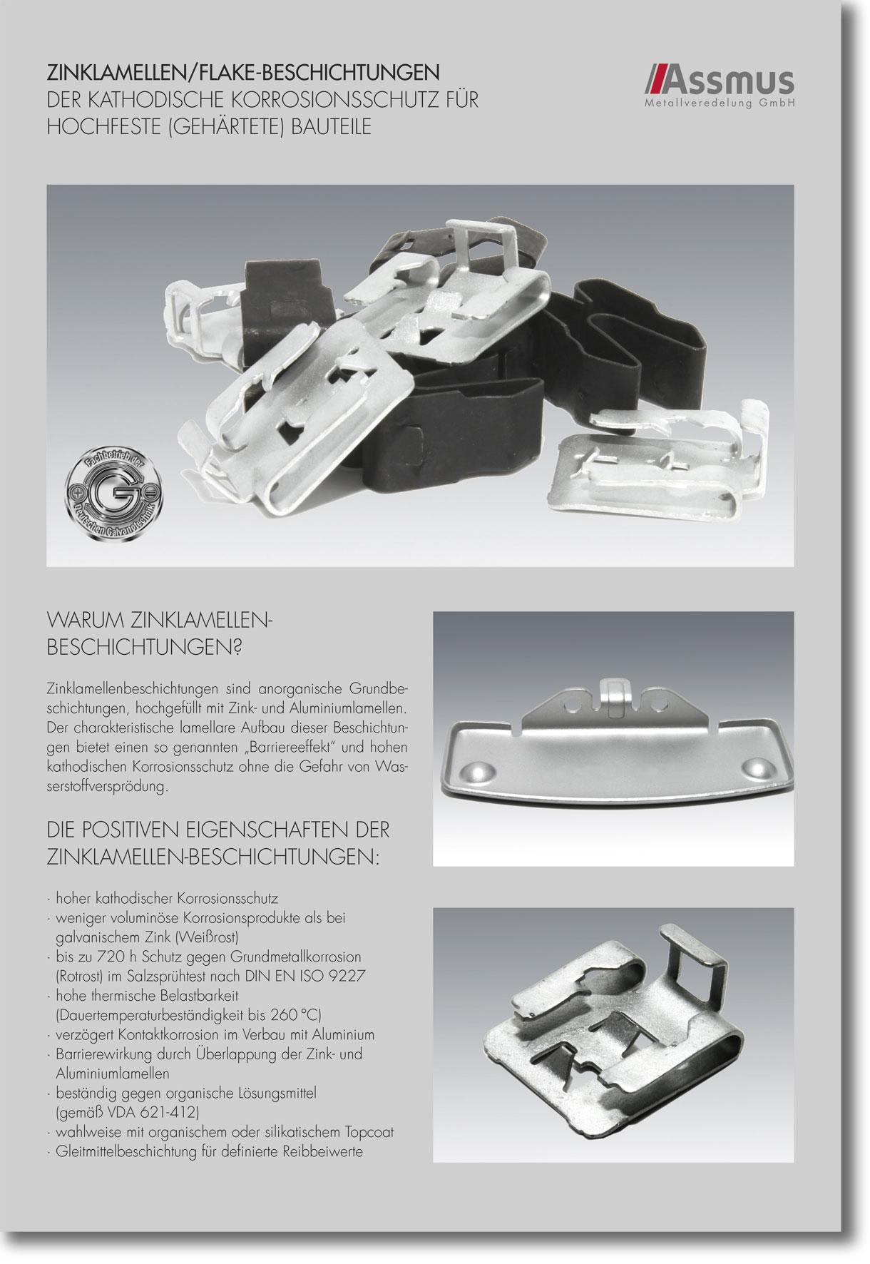 Hervorragend Zink-Lamellen-Beschichtung › Assmus Metallveredelung KF64
